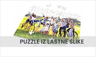 Puzzle iz lastne slike