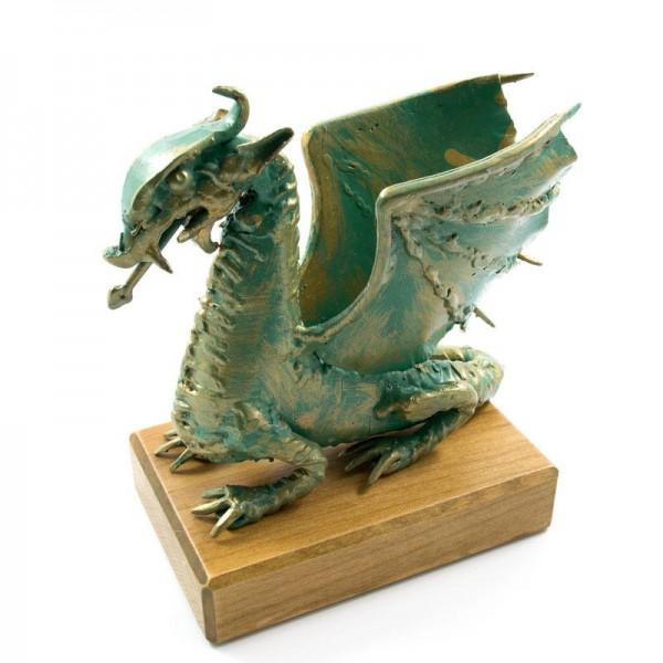 Ljubljanski zmaj, ročno izdelana kovinska skulptura