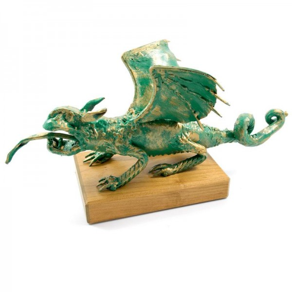 Celovški zmaj skulptura