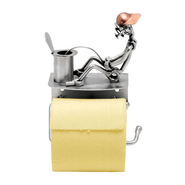 Držalo za wc papir (pee-pee), kovinska skulptura