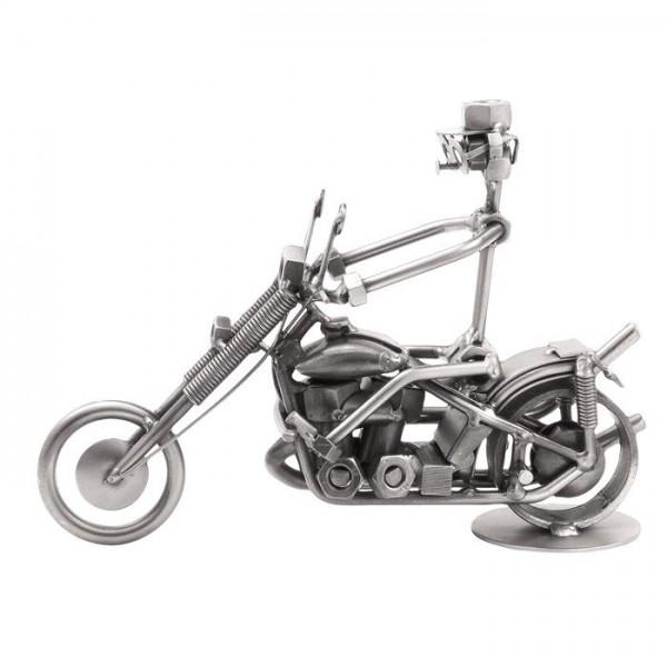 Motor Harley, kovinska skulptura