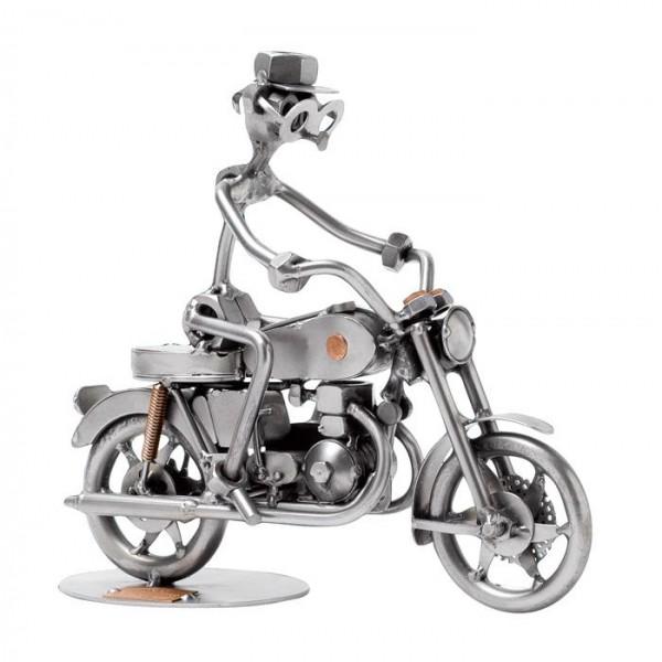 Motorno kolo, kovinska skulptura (1 figura)