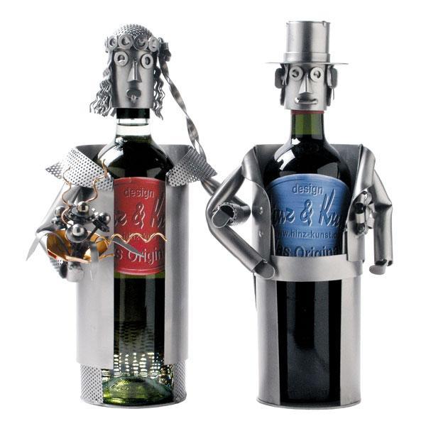 Nosilec za steklenico (ženin in nevesta)