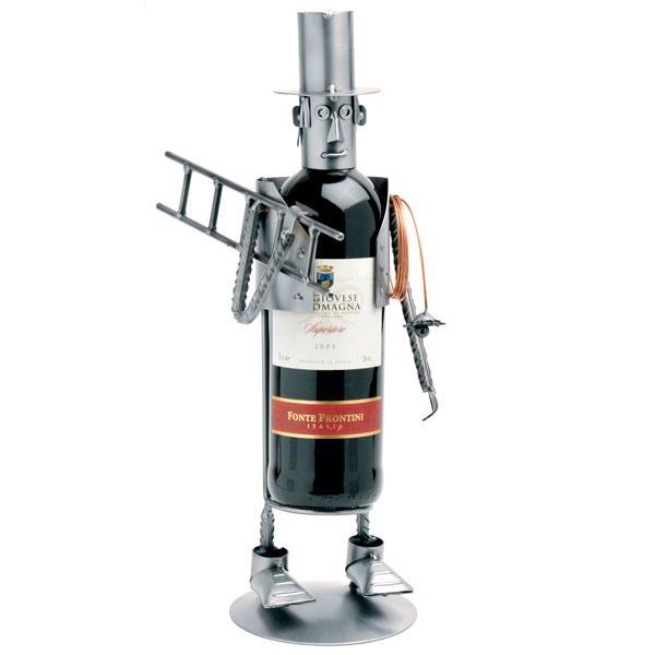 Nosilec za vinsko steklenico (dimnikar)