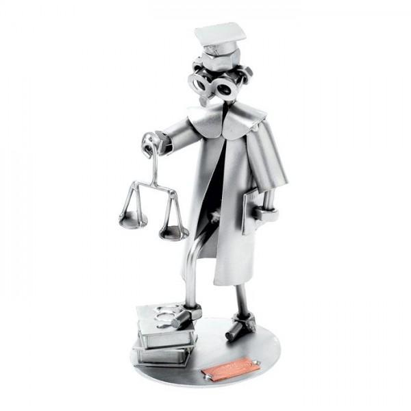 Odvetnik, kovinska skulptura