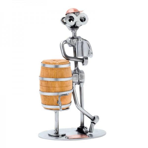 Pivec piva, kovinska skulptura
