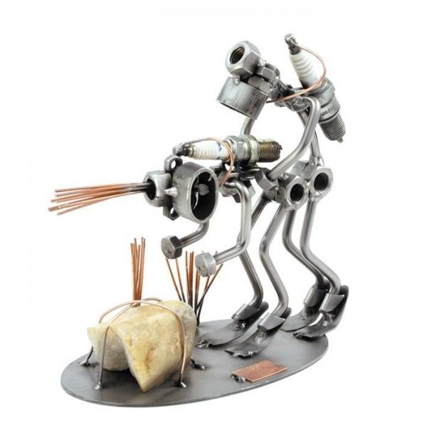 Potapljač, kovinska skulptura