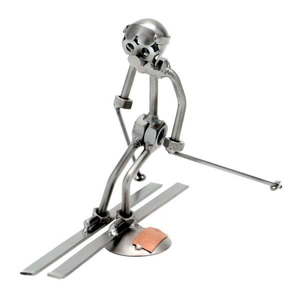 Smučar slalomist, kovinska skulptura