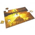 Lesene puzzle iz lastne fotografije