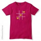 Majica Tri srca v vrsto