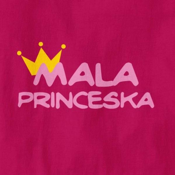 Otroška majica Mala Princeska