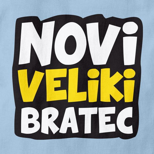 Otroška majica Novi veliki bratec