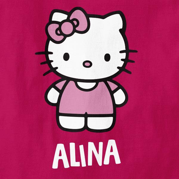 Otroška majica Hello Kitty + MENJAVA IMENA