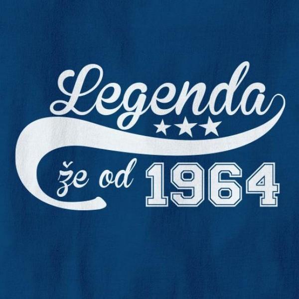 Majica Legenda že od 1964 + MENJAVA LETNICE