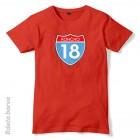 Majica Končno 18 Interstate + MENJAVA LETNICE