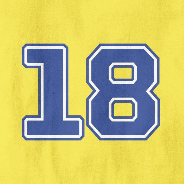 Majica za 18 rojstni dan + MENJAVA LETNICE
