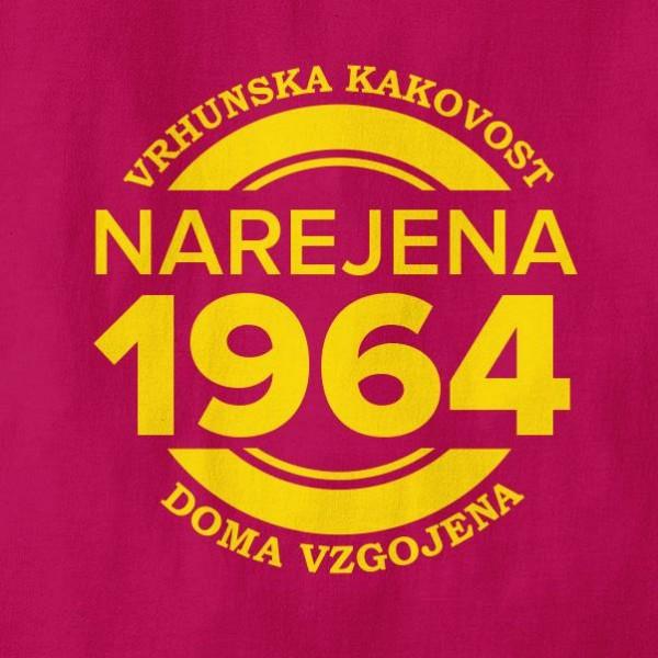 Majica Narejena 1964 + MENJAVA LETNICE