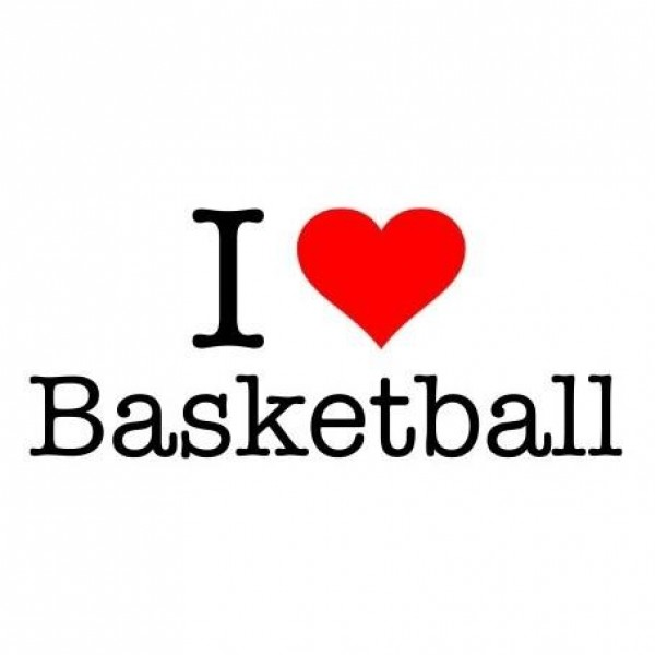 Majica I love basketball