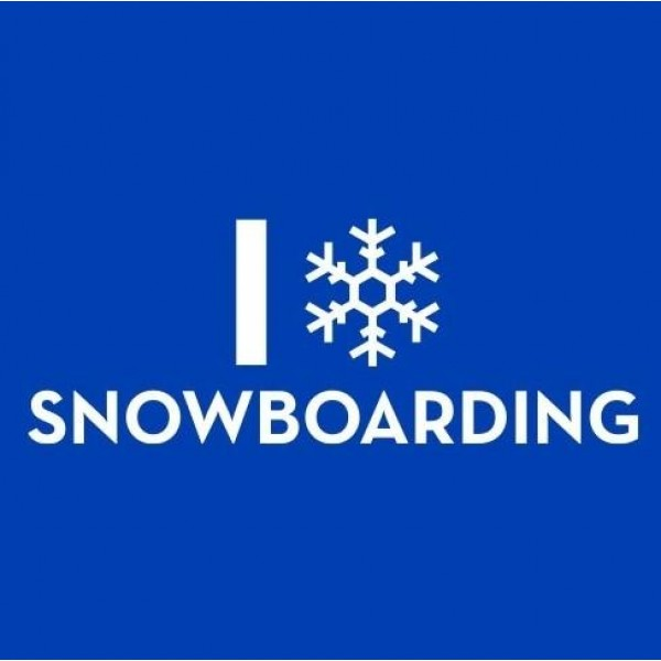 Majica I love Snowboarding