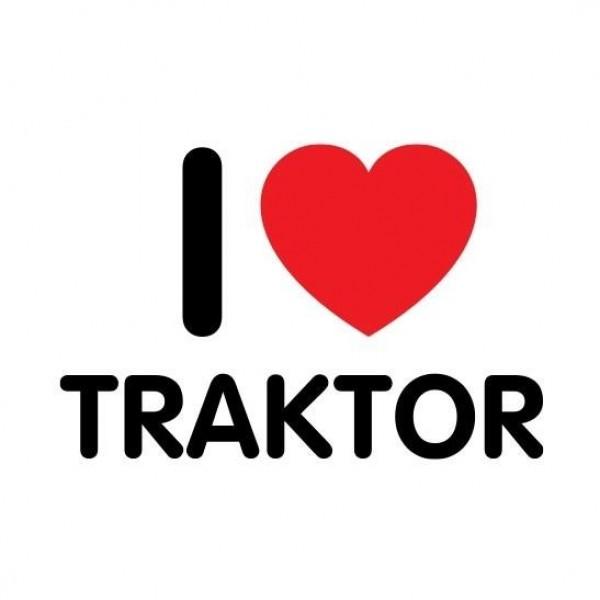 Majica I love traktor