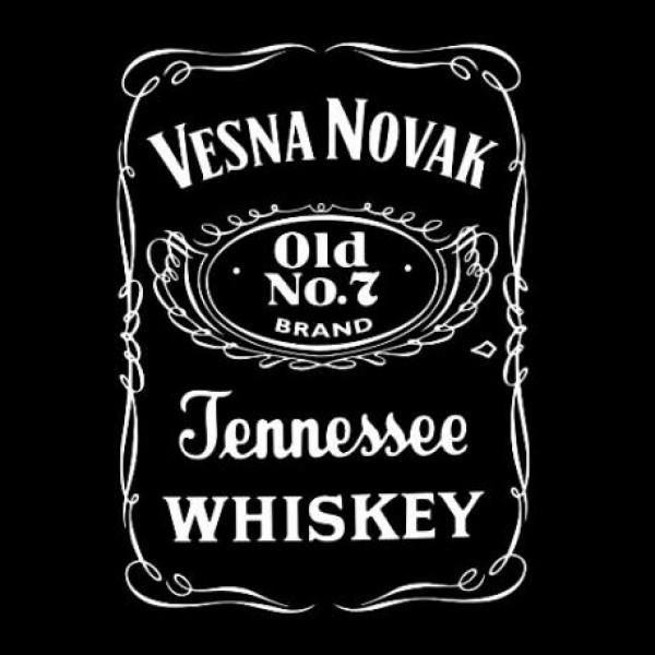 Majica Jack Daniel's, z lastnim imenom in letnico