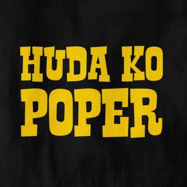 Majica Huda ko poper