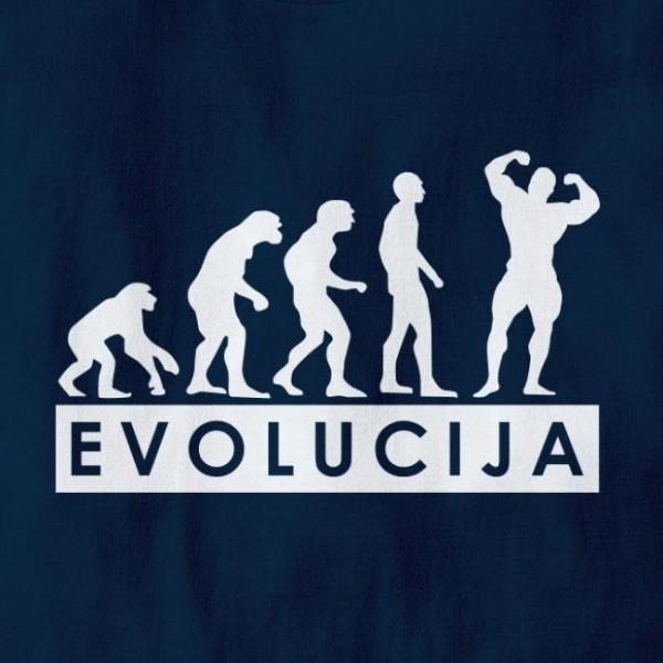 Majica Evolucija fitnes