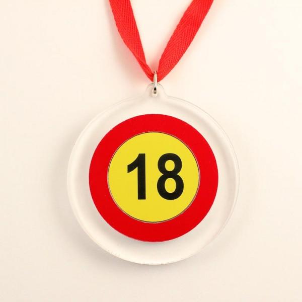 Medalja za 18. rojstni dan + MENJAVA LETNICE