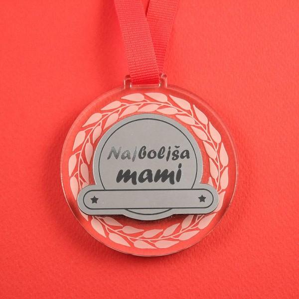 Medalja Najboljša mami + GRAVIRANJE