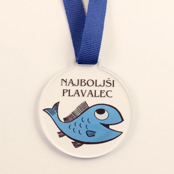 Medalja Najboljši plavalec