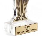 Plaketa Oskar + GRAVIRANJE