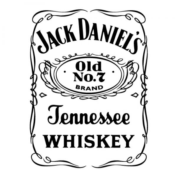 Nalepka Jack Daniel's