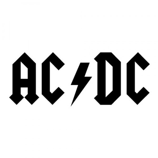 AC/DC nalepka