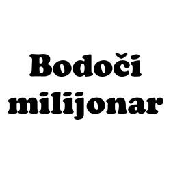 Bodoči milijonar nalepka