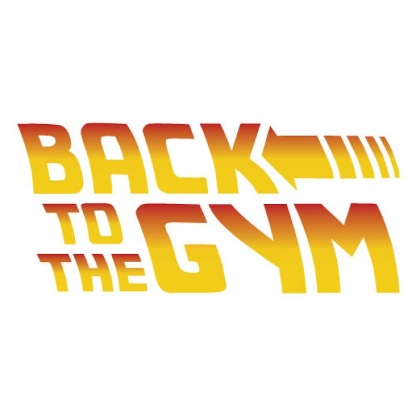 Back to the Gym nalepka