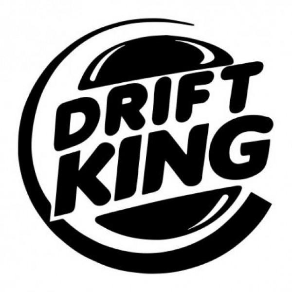Drift king nalepka za avto