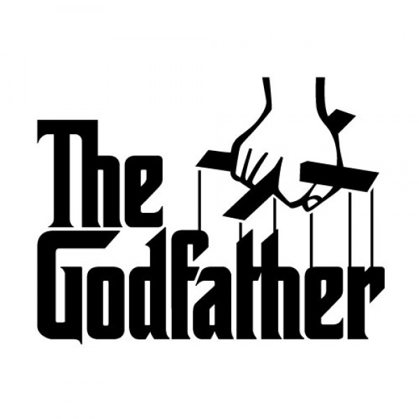The Godfather nalepka