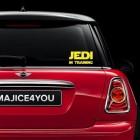Jedi in training nalepka