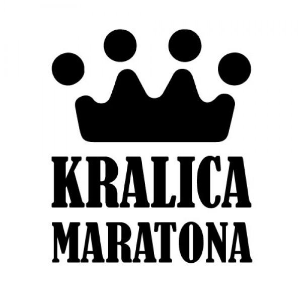Nalepka Kraljica Maratona
