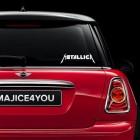 Metallica nalepka za avto