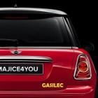 Nalepka za avto Gasilci
