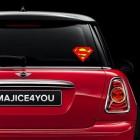 Nalepka za avto Superman