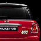 Nalepka za avto EGO