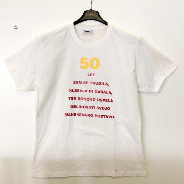 Majica 50 let sem se trudila