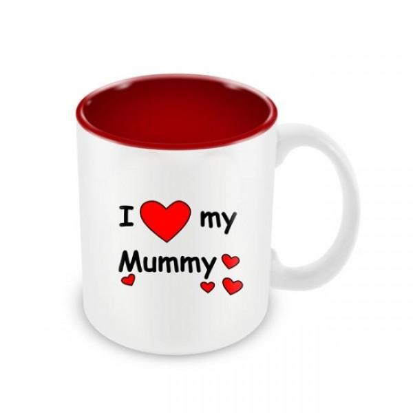 Skodelica za materinski dan I love my mummy
