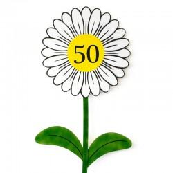 Roža za okroglo obletnico, 75 x 190 cm + MENJAVA LETNICE