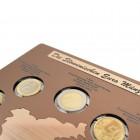 Komplet zbirke prvih slovenskih evro kovancev (nemška verzija)
