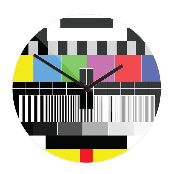 """Stenska ura """"Brez signala"""", premer 30 cm"""