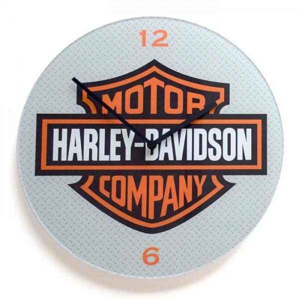 Stenska ura Harley-Davidson, premer 30 cm