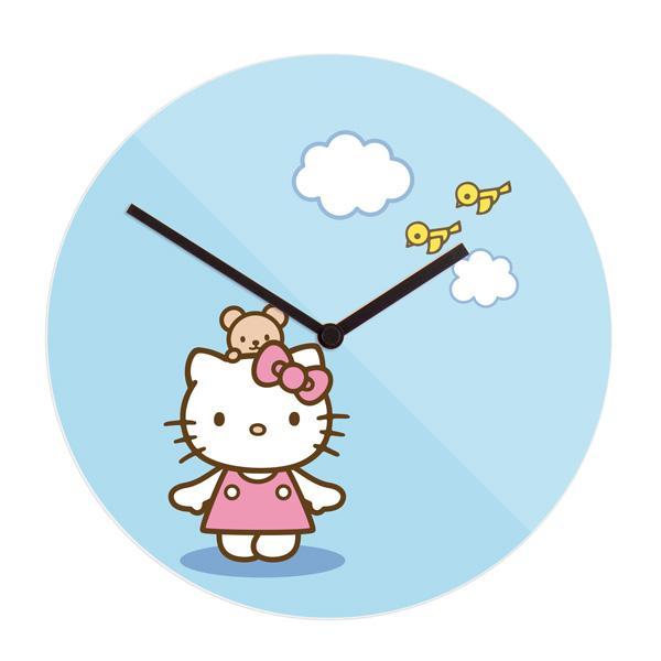 """Stenska ura """"Hello Kitty"""", premer 30 cm"""